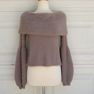 Leith Baloon Sleeves Super Soft Sweater